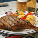Beer-Grilled Pork Chops